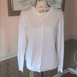 CIELO white cardigan sweater M